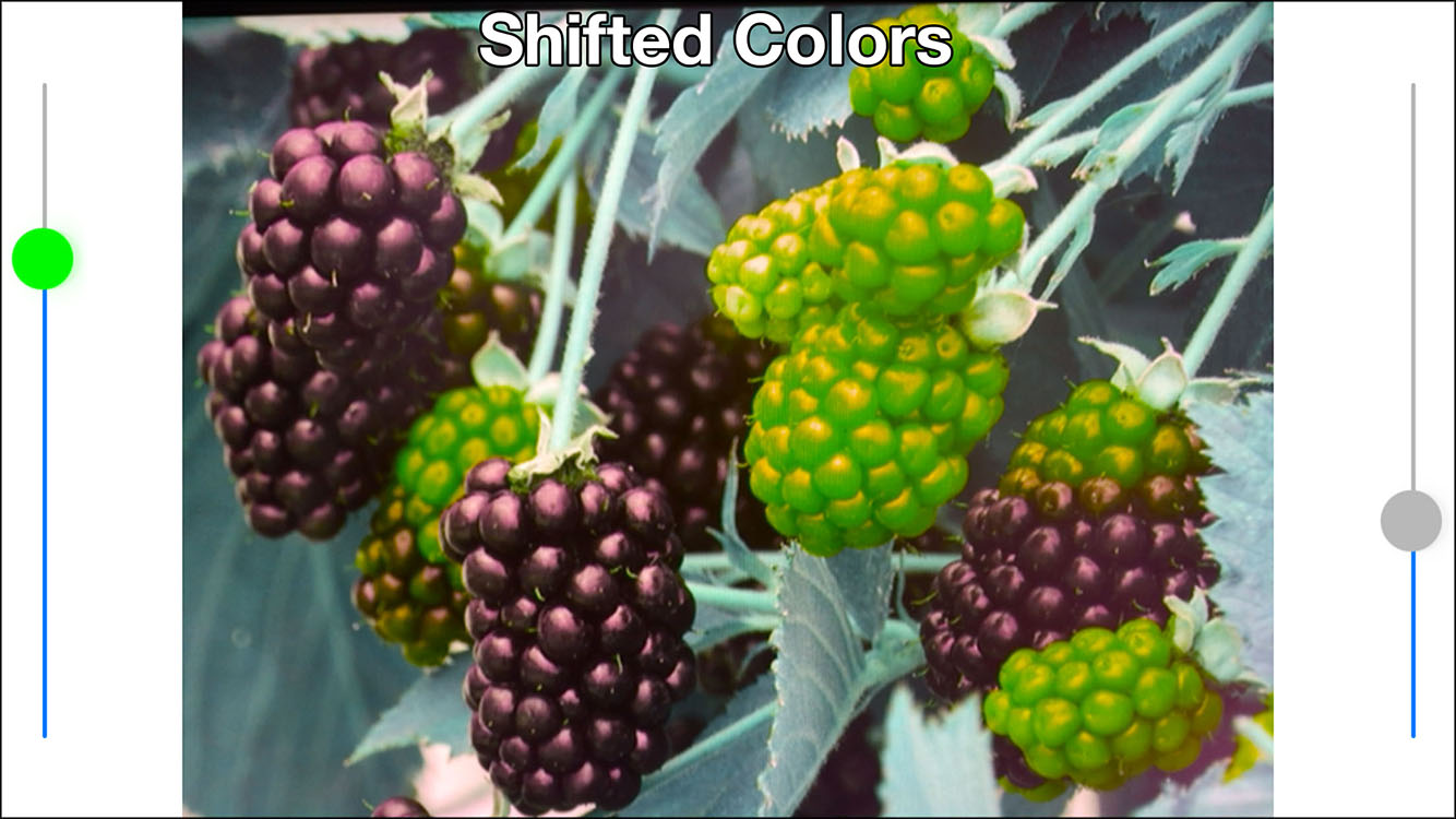 Color'Mate - shifted colors